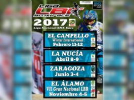 Winter International de El Campello, inicio de la Liga LBR BMX