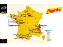 Powerbar, proveedor oficial del Tour de Francia