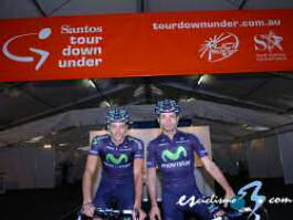 Euskaltel-Euskadi y Movistar abren el calendario en el Tour Down Under