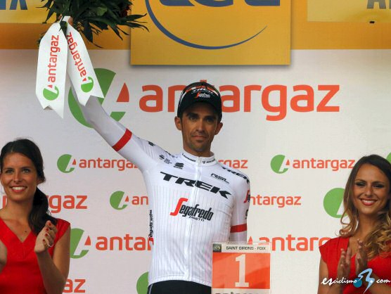 Alberto Contador lucirá el dorsal número 1 en la Vuelta a España