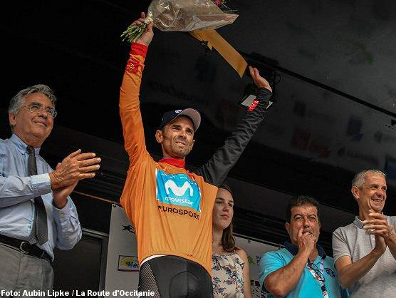 Alejandro Valverde revalida el título en La Ruta de Occitania, Arnaud Démare gana la última etapa