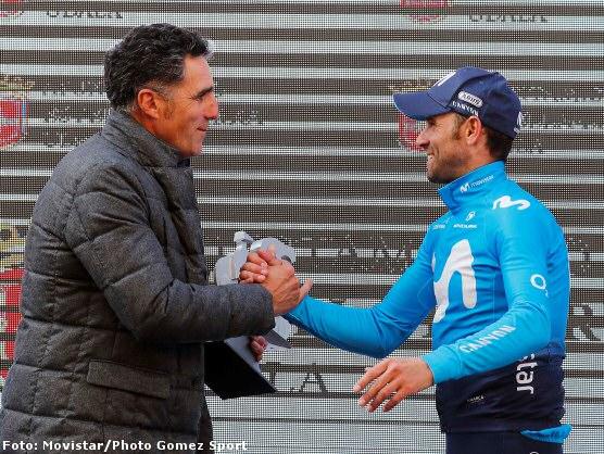 Alejandro Valverde se adjudica el XX Gran Premio Miguel Indurain