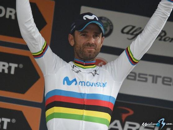 Alejandro Valverde es ya el vencedor del UCI World Ranking 2018