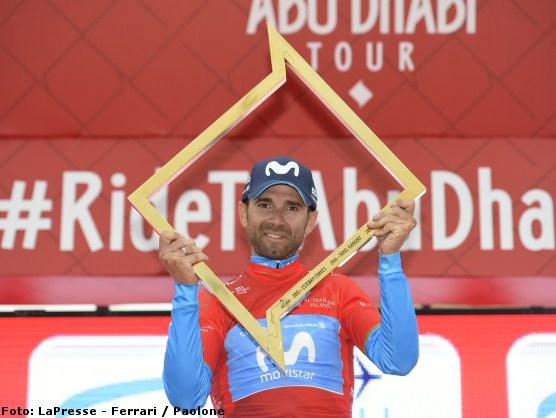 Alejandro Valverde gana el Tour de Abu Dhabi ganando la última etapa