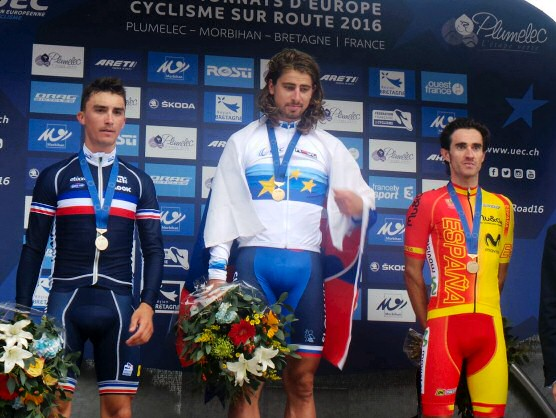 Campeonatos de Europa: Peter Sagan oro en ruta, Dani Moreno bronce