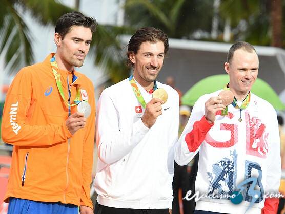 JJ.OO.: Fabian Cancellara logra el oro olímpico en la contrarreloj de Río