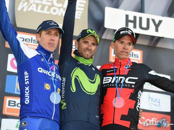 Valverde se exhibe en el Muro de Huy y consigue su quinta Flecha Valona