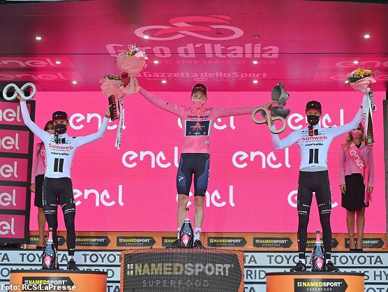 Tao Geoghegan Hart se adjudica el Giro de Italia 2020, Filippo Ganna la  última etapa