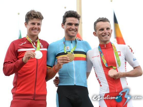 JJ.OO.: Greg Van Avermaet, nuevo campeón olímpico de ciclismo en ruta