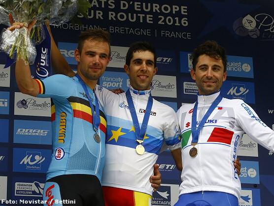 Campeonatos de Europa: Castroviejo consigue el oro en contrarreloj