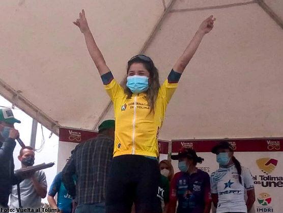 Lilibeth Chacón barrió en la Vuelta al Tolima en Colombia