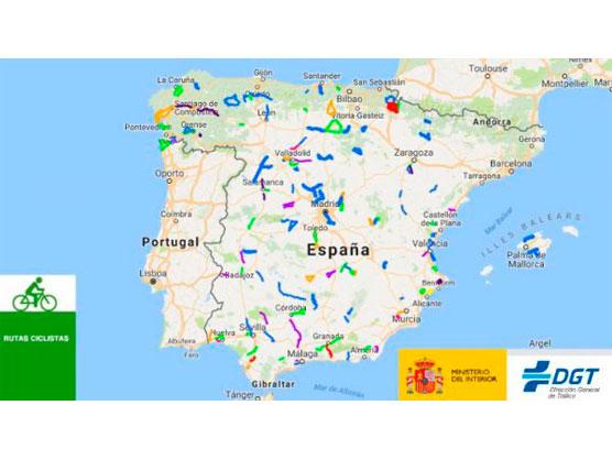 Resultat d'imatges de rutas ciclistas protegidas
