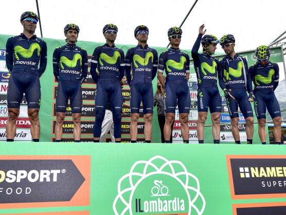 Movistar, mejor equipo del UCI WorldTour por cuarto año consecutivo