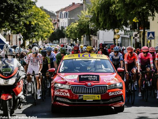 Danés Andersen vence en Tour de Francia, Roglic mantiene liderato
