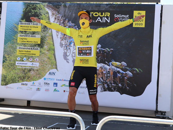 Primoz Roglic Takes The Tour De L Ain And Also The Last Stage
