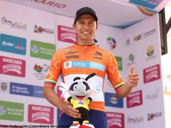 Cristian Montoya ganó la tercera etapa de la Vuelta a Colombia