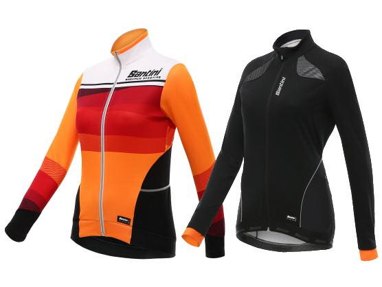 protección ciclistas ofrece Santini invierno féminas para en color y las 0tqqFwd