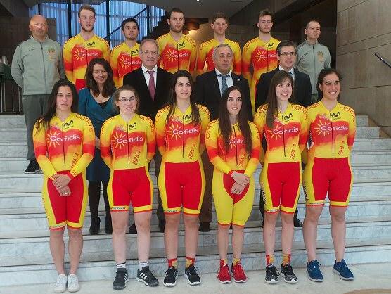 Concentración de la Selección Española de pista con el regreso de Leire Olaberria