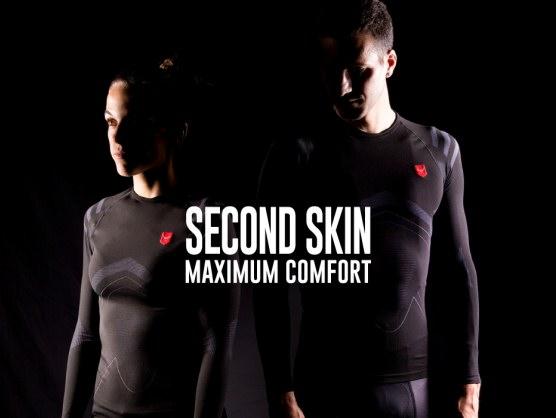 Las nuevas camisetas compresivas de Taymory funcionan como una segunda piel