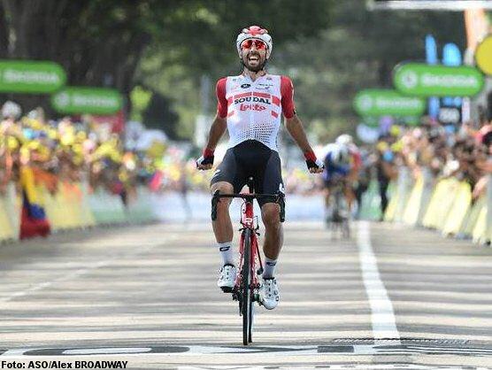 Clasificaciones de la octava etapa del Tour de Francia