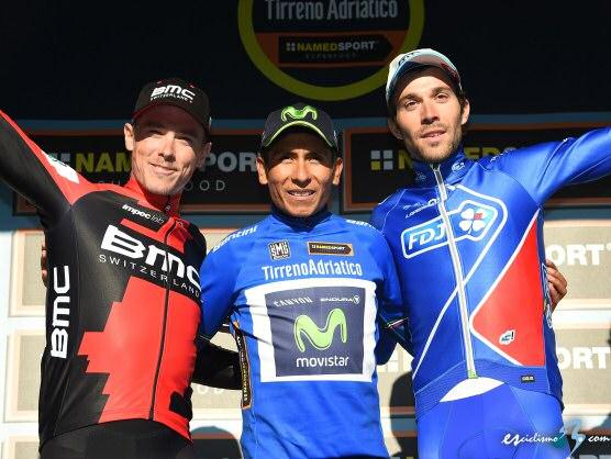 Nairo Quintana se lleva la Tirreno-Adriático, Rohan Dennis la crono final
