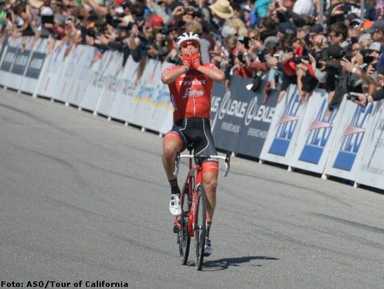 Tour de California: Toms Skujins gana en Laguna Seca, Egan Bernal sigue líder