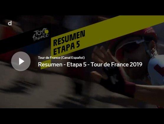 tour de francia 2019 v237deo resumen de la etapa 5