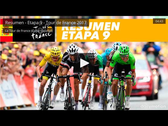 Tour De Francia Vídeo Resumen De La Etapa 9 Del Tour