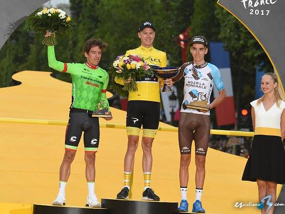 Chris Froome gana su cuarto Tour de Francia y Dylan Groenewegen la última etapa