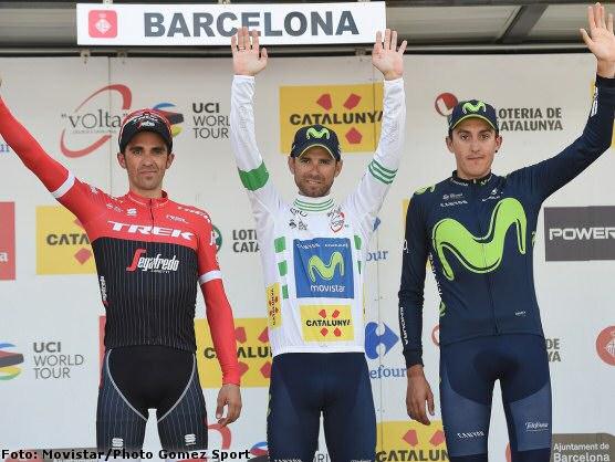 Alejandro Valverde se adjudica su segunda Volta a Catalunya y la última etapa