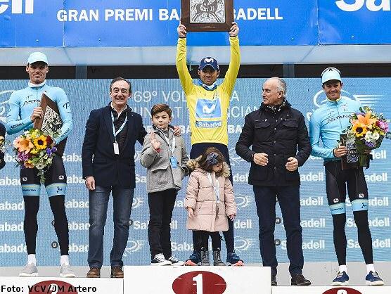 Alejandro Valverde se lleva la Volta a la Comunitat Valenciana y Jürgen Roelandts la última etapa
