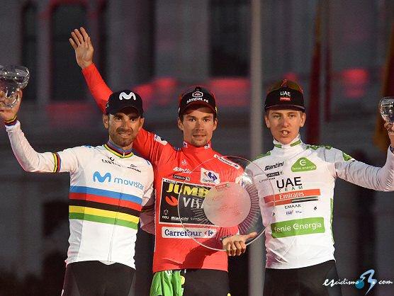 Primoz Roglic gana la Vuelta a España, Fabio Jakobsen la última etapa