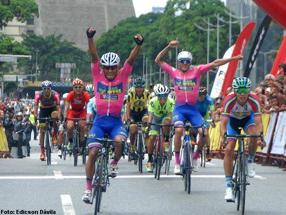 Xavier Quevedo, primer líder de la Vuelta a Venezuela