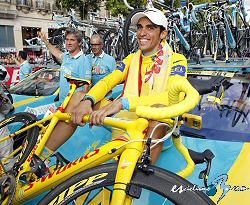 Instituciones y deportistas apoyan a Contador y manifiestan su tristeza