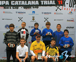 Joan Figueras, ganador final de la Copa Catalana de Trial ´11 X‐Up Energy