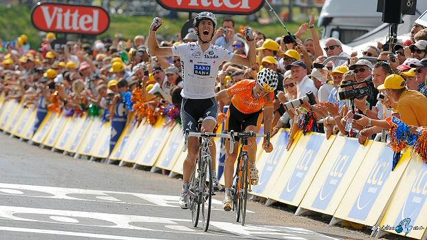Tour de Francia: Andy Schleck gana en Morzine y Evans se ...