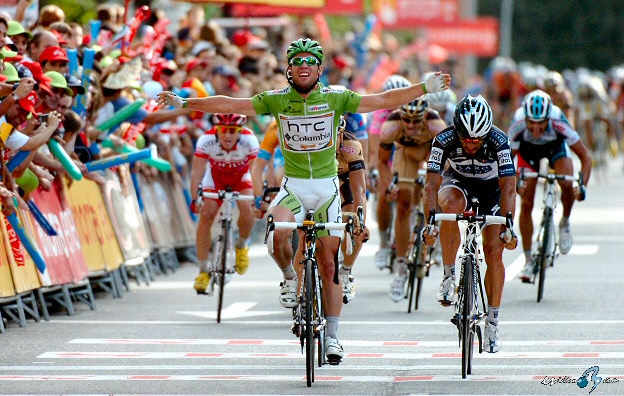 Mark Cavendish gana en Salamanca