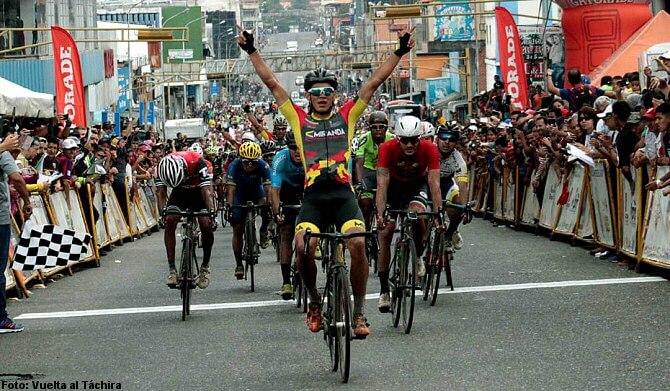 Vuelta al Táchira: Orluis Aular gana la tercera, Jhonatan Salinas mantiene el liderato