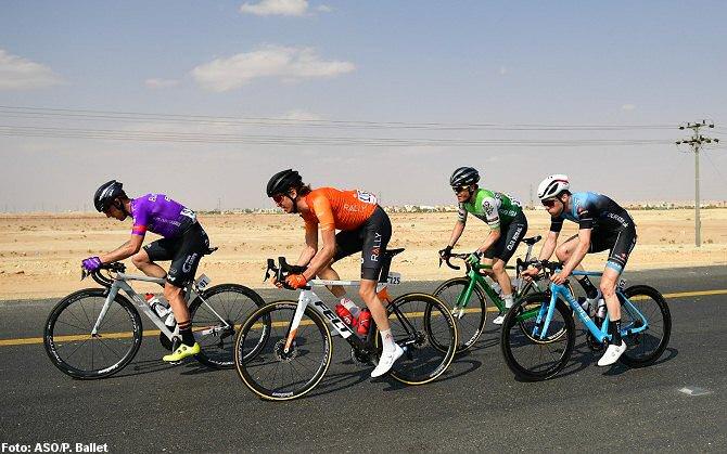 La escapada del día en el Tour de Arabia Saudita