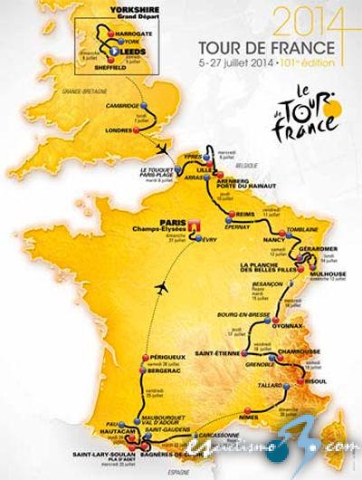 TOUR De Francia 2014-http://www.esciclismo.com/actualidad/imagenes/g/tour_de_francia_2014_recorrido_mapa.jpg