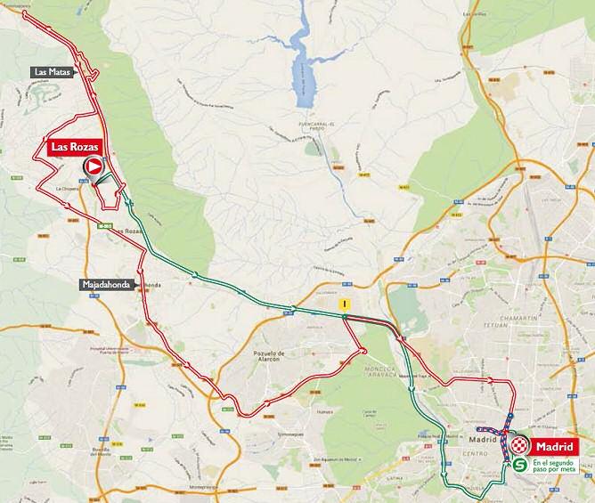 a Espaa 21 etapa Las Rozas  Madrid  1048 Km