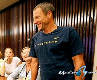 "Lance Armstrong (Astana): ""Me siento muy fuerte y motivado"""