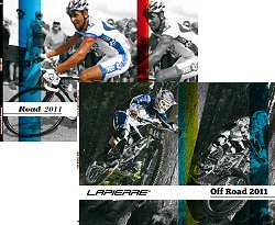 Disponibles los catálogos de carretera y mountain bike de Lapierre 2011