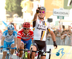 Mark Cavendish logra la victoria