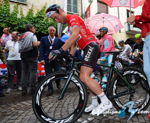 Giro de Italia: Una exclusiva Specialized S-Works Venge para Cavendish