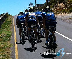 El Movistar Team, listo para iniciar la temporada en el Tour Down Under