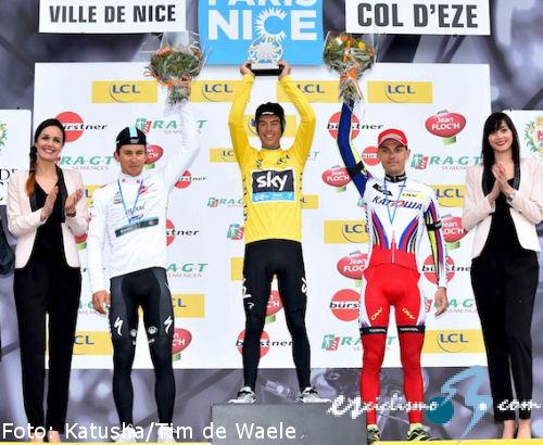 Richie Porte se adjudica la París-Niza 2015 tras ganar la crono final