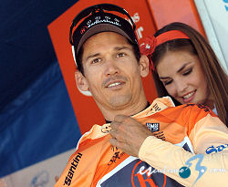 "Tour Down Under: Robbie McEwen: ""Es estupendo estar l�der"""