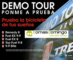 El Demo Tour de Trek llega a Tomas Domingo-The Bike House