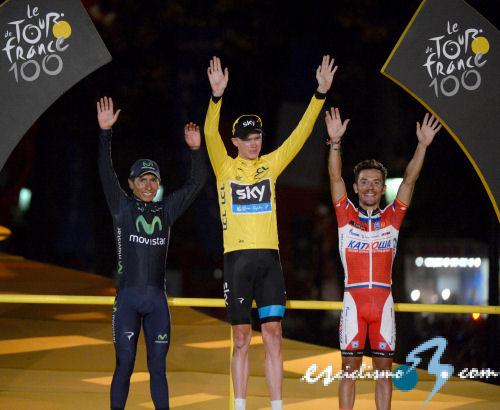 Chris Froome gana el 100 Tour de Francia y Marcel Kittel la última etapa